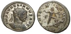 Ancient Coins - Aurelian, 270 - 275 AD, Silvered Antoninianus of Rome