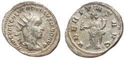 Ancient Coins - Volusian, 251 - 253 AD, Silver Antoninianus, Uberitas