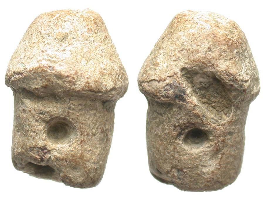 Ancient Coins - Roman Lead Phallic Amulet