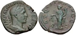 Ancient Coins - Philip I, 244 - 249 AD, Sestertius, Aequitas