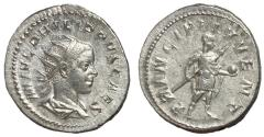 Ancient Coins - Philip II, as Caesar, 244 - 247 AD, Silver Antoninianus, Heir Apparent
