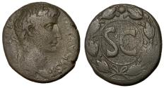 Ancient Coins - Augustus, 27 BC - 14 AD, AE As, Antioch Mint