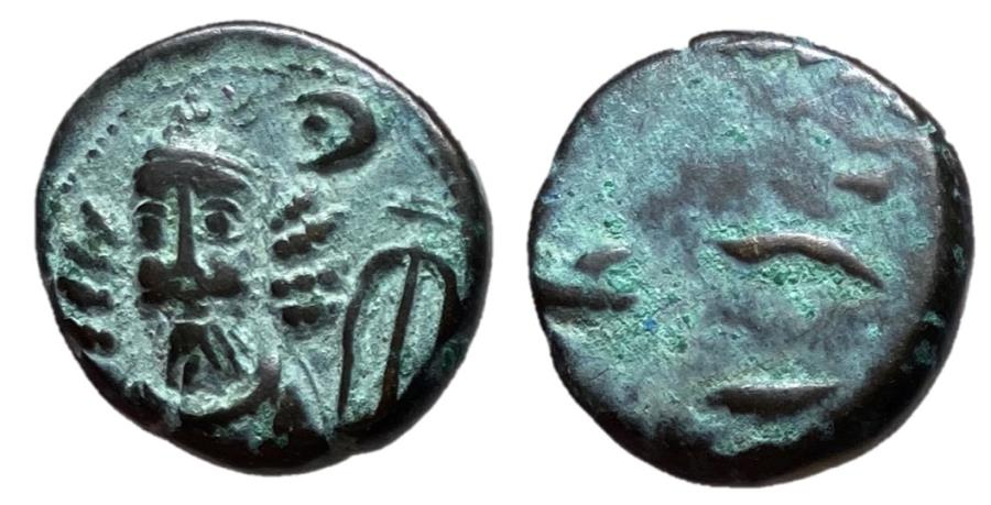 Ancient Coins - Kings of Elymais, Kamnaskires-Orodes, 2nd Century AD Drachm