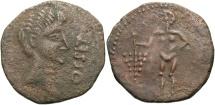 Ancient Coins - Augustus, 27 BC - 14 AD, AE 26, Spain, Osset