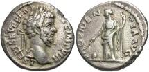 Ancient Coins - Septimius Severus, 193 - 211 AD, Silver Denarius, Providentia