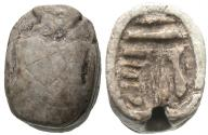 Ancient Coins - Egypt, New Kingdom to Late Period, 16th - 4th Century BC, Amen-Ra Scarab