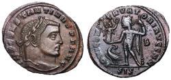 Ancient Coins - Constantine I, 307 - 337 AD, Follis of Siscia Jupiter