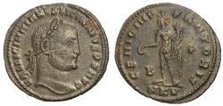 Ancient Coins - Licinius I, 308 - 324 AD, Follis of Cyzicus, Rare