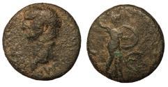 Ancient Coins - Claudius I, 41 - 54 AD, AE As, Minerva