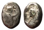Ancient Coins - Achaemenid Empire, Xerxes to Artaxerxes II, 420 - 375 BC, Silver Siglos