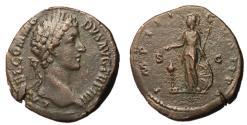 Ancient Coins - Commodus, 177 - 192 AD, Sestertius, Minerva