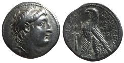 Ancient Coins - Antiochos VII, 138 - 129 BC, Silver Tetradrachm, Tyre Mint