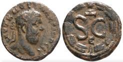 Ancient Coins - Macrinus, 217 - 218 AD, AE17, Antioch