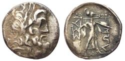 Ancient Coins - Thessalian League, mid - Late 1st Century BC, Silver Stater, ex BCD Collection