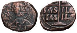 Ancient Coins - Romanus III, 1028 - 1034 AD, Class B Follis