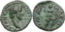 Ancient Coins - Antoninus Pius, 138 - 161 AD, AE23, Anchialus Mint, Artemis