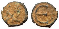 Ancient Coins - Justin II, 565 - 578 AD, Pentanummium of Constantinople