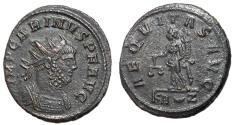 Ancient Coins - Carinus, 283 - 285 AD, Antoninianus of Rome, Aequitas