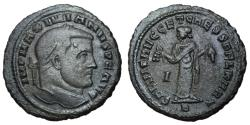 Ancient Coins - Galerius, 305 - 311 AD, Follis of Carthage