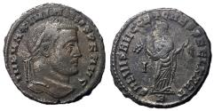 Ancient Coins - Galerius, 305 - 311 AD, Follis of Carthage