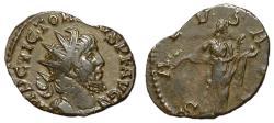 Ancient Coins - Victorinus, 269 - 271 AD, Antoninianus with Salus