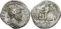 Ancient Coins - Septimius Severus, 193 - 211 AD, Silver Denarius, Victory