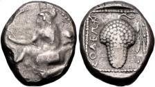 Ancient Coins - Cilicia, Soloi, 440 - 410 BC, Silver Stater