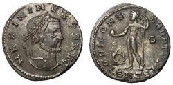 Ancient Coins - Maximinus II, 310 - 313 AD, Follis of Thessalonica, Jupiter