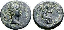 Ancient Coins - Domitian, 81 - 96 AD, AE24 of Flaviopolis, with Tyche