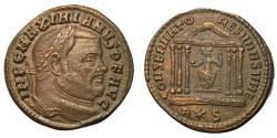 Ancient Coins - Maximianus, Second Reign, 307 - 308 AD, Follis of Rome