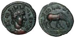 Ancient Coins - Trebonianus Gallus to Valerian I, 251 - 260 AD, AE23, Alexandria Troas, Nice EF