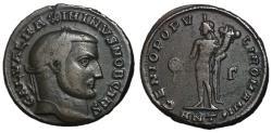 Ancient Coins - Maximinus II, as Caesar, 305 - 309 AD, Follis of Antioch