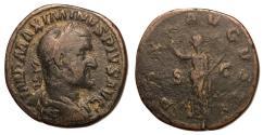 Ancient Coins - Maximinus I, 235 - 238 AD, Sestertius, Pax