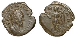 Ancient Coins - Tetricus I, 271 - 274 AD, Antoninianus with Victory