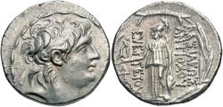 Ancient Coins - Seleukid Kingdom, Antiochos VII Euergetes (Sidetes), 138 - 129 BC, Silver Tetradrachm
