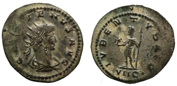 Ancient Coins - Gallienus, 253 - 268 AD, Antoninianus of Antioch
