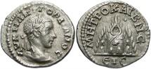 Ancient Coins - Gordian III, 238 - 244 AD, Silver Drachm of Caesarea
