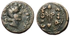 Ancient Coins - Pontus Amisos, Time of Aemilian, 284 AD, AE22, Third Known Specimen