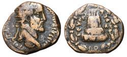 Ancient Coins - Antoninus Pius, 138 - 161 AD, AE24, of Zeugma, Very  Rare