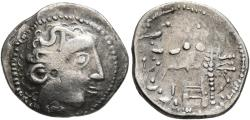 Ancient Coins - Eastern Celts, 2nd Century BC, Silver Drachm