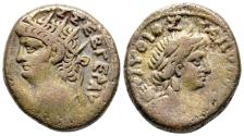 Ancient Coins - Nero, 54 - 68 AD, Tetradrachm of Alexandria, Apollo