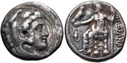 Ancient Coins - Kingdom of Macedonia, Alexander III, 336 - 323 BC, Silver Tetradrachm, With Scorpion