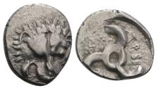 Ancient Coins - Dynasts of Lycia, Trbbenimi, 380 - 370 BC, Silver Tetrobol
