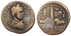 Ancient Coins - Elagabalus, 218 - 222 AD, AE31, Aradus Mint