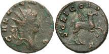 Ancient Coins - Gallienus, 253 - 268 AD, Antoninianus, Pegasus