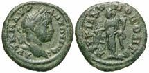 Ancient Coins - Elagabalus, 218 - 222 AD, AE16, Marcianopolis, Fortuna
