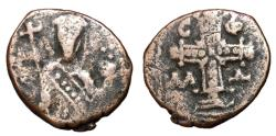 Ancient Coins - Alexius I Comnenus, 1081 - 1118 AD, Tetarteron of Thessalonica