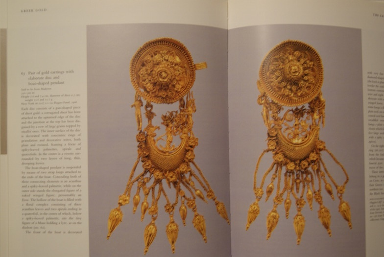 greek gold jewelry of the classical world