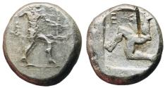 Ancient Coins - Pamphylia, Aspendos, 465 - 430 BC, Silver Stater, Part of Athenia Tetradrachm Hoard
