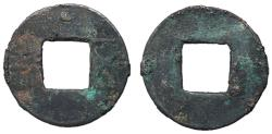 Ancient Coins - Eastern Han Dynasty, Emperors Zhang Di to Zhi Di, 75 - 146 AD, Pellet Mintmark